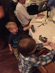 "Colton and Paul Play at the Rehearsal Dinner • <a style=""font-size:0.8em;"" href=""http://www.flickr.com/photos/109120354@N07/37244037044/"" target=""_blank"">View on Flickr</a>"