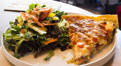Quiche Lorraine (Bill in DC) Tags: nm newmexico santafe food bakeeries clafoutis