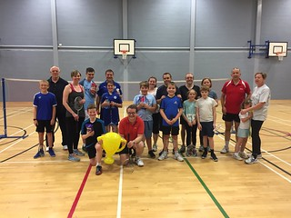 Family Badminton for Parents In Sport Week - October 2017