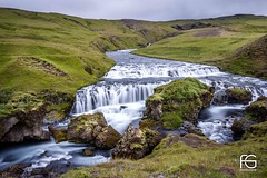 Icelandic waterfall (Fabien Georget (fg photographe)) Tags: cascade islande water rocks longexposure landscape paysage sky ayezloeil beautifulearth bigfave canoneos600d canon elitephotography elmundopormontera eos fabiengeorget fabien fgphotographe flickr flickrdepot flickrunited georget geotagged flickunited longue mordudephoto nature paysages perfectphotograph perfectpictures wondersofnature wonders supershot supershotaward theworldthroughmyeyes shot poselongue photography photo greatphotographer french skogar bluehour granit sunset slowshutter blue hour heure bleue iceland eau waterfall waterscape