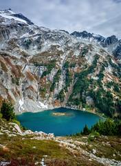 Doubtful Lake, North Cascades National Park (plottsdaniel) Tags: evergreenstate hd dslr sahaleglaciercamp sahaleglacier sahalearm seattle pnw washington nikkor nikon northcascadesnationalpark northcascades doubtfullake