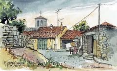 Casas en El Mirón (P.Barahona) Tags: arquitectura casas torre urbano rural
