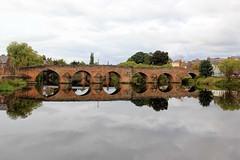 Old Bridge - Dumfries - 2017-09-18 - In Explore! (BillyGoat75) Tags: reflection water oldbridge devorgillabridge rivernith dumfries scotland