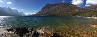 St Mary Lake pano