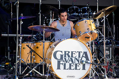 Greta Van Fleet - Riff Fest - DTE Energy Music Theatre - Clarkston, MI - Sept 29th 2017