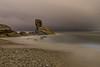 Noche lluviosa. (Amparo Hervella) Tags: playadelportizuelo luarca asturias españa spain nocturna noche lightpainting nube naturaleza largaexposición color d7000 nikon nikond7000 comunidadespañola e