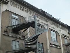 DSCF6699 (Benoit Vellieux) Tags: lyon confluence architecture urbanisme townplanning port harbour harbor hafen chambredecommerce chamberofcommerce handelskammer wirtschaftskammer