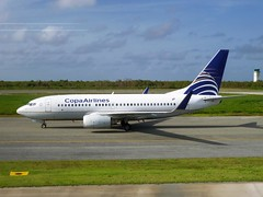 PUJ - Boeing 737-7V3 (HP-1375CMP) Copa Airlines (Aéro'Passion) Tags: panama aéropassion airport aircraft airlines aéroport sol roulage taxiway aviation avions photography photos passage boeing natw b737 7377v3 b7377v3 737 winglets copa airplanes puj mdpc hp1375cmp punta cana terrasse msn30460 copaairlines puntacana
