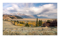 Great View (doudini2) Tags: grandteton tetons nationalpark gtnp wyoming jackson landscape clouds sky fall season aspens leaves colors country rural scapes pentaxart