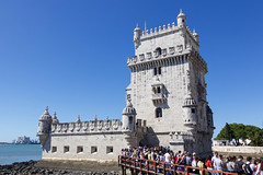 Belem Tower (joscelyn_p) Tags: architecture lisbon lisboa portugal travel traveler historic beautiful blue canon lightroom traveling