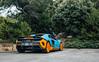 Gulf. (Alex Penfold) Tags: mclaren 675lt supercars supercar super car cars autos alex penfold 2017 america usa california pebble beach monterey week blue orange gulf