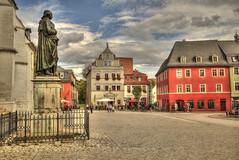Herderplatz (hph46) Tags: weimar thüringen deutschland germany herderplatz herderdenkmal altstadt sony canonef1635mm14lisusm hdr
