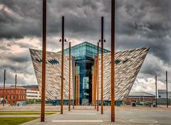 Titanic Centre, Belfast (squirrel.boyd) Tags: cruiseship slipway titanic belfast angles museum shipyard