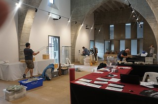 Our exhibition area