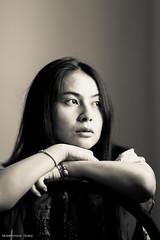 4K6A5406 (HabibullahQureshi) Tags: blackandwhite portraits bw face beauty girl model portfolio artistic dubai photoshoot photosession chinesegirl