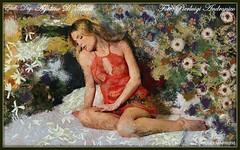 Marzia - (Impressionismo digitale) (agostinodascoli) Tags: marzia impressionismo pierluigiandronico agostinodascoli modella donna colore fullcolor art digitaart digitapainting photoshop ritratto photopainting texture