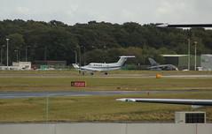 OE-FME (Rob390029) Tags: airlink luftverkehrs beechcraft beech king air b300 300 oefme prop propeller props propellers transport transportation travel newcastle international airport ncl egnt