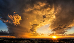Beyond the Desert Sky (ncamill) Tags: sky sunset storm rain landscape lascrucesnewmexico landscapes light clouds color cloud desert desertsouthwest dusk twilight newmexico nature