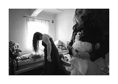At the last minute (Jan Dobrovsky) Tags: biogon21mm people reallife leicam10 wedding rural gypsies indoor krásnálípa monochrome backlight room blackandwhite northernbohemia social roma document