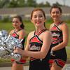 Shimmering smile (radargeek) Tags: 2016 westerndayparade mustangwesterndaysparade mustang oklahoma parade cheerleaders cheer highschool portrait
