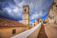 (720/17) Iglesia de Planes (Alicante) (Pablo Arias) Tags: pabloarias photoshop photomatix capturenxd españa cielo nubes arquitectura torre edificio iglesia planes alicante