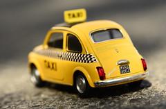 ... Souvenir ... (Device66.) Tags: macromondays souvenir device milano taxi memories mm hmm fiatnuova500