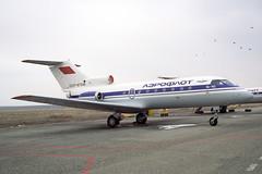 CCCP-87306 Yakovlev Yak-40 Aeroflot (pslg05896) Tags: uatt aktyubinsk aktobe kazakhstan cccp87306 yakovlev yak40 aeroflot akx