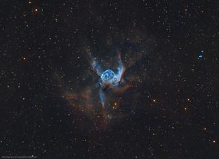 NGC2359 Thor's Helmet in NB