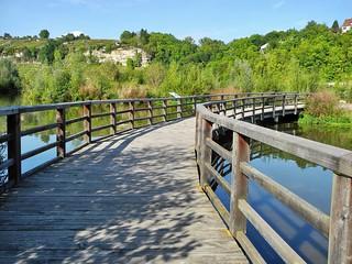 Brücke in den Zugwiesen