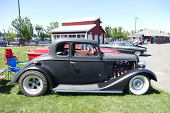 1934 chevrolet (bballchico) Tags: 1934 chevrolet coupe hotrod goodguys carshow scotmcdonnell