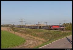 CT 1618 - 47702 (Spoorpunt.nl) Tags: zondag 15 oktober 2017 captrain raillogix 1618 trein 47702 buizen conline wieldrechtse zeedijk dordrecht