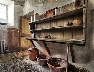 The housekeeper's pantry, Uppark House