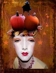 Pumpkinia (Swissrock-II) Tags: deviantart photoshop photomanipulation photoart photoshopart digital fantasy challenge devianart 2017 october pumpkin inspiration andykobel