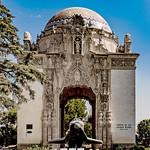 Portal of the folded wings shrine to aviation. thumbnail