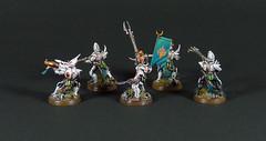 Drukhari Kabalite Warriors (Uruk's Customs) Tags: games workshop warhammer wh40k dark eldar drukhari cabal pallid sun kabalite warriors sybarite