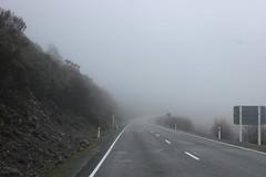Straße nach Arthur's Pass