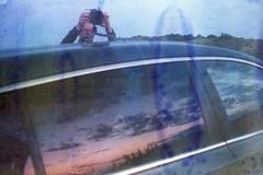 (martine.es) Tags: car 35mm analog camping road reflection sun sky pink purple analogue analoog usa outerbanks virginia beach destroyed soaked souped soakedfilm filmsoak filmsoup limejuice love camera kiasportage kia film minolta america roadmovie ontheroad oftheafternoon ifyouleave