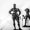 You Make Your Decisions, I'll Make Mine (Thomas Hawk) Tags: 1905 america augustrodin gastonlachaise milwaukee milwaukeeartmuseum standingwoman thewalkingman usa unitedstates unitedstatesofamerica wisconsin bronze bw sculpture fav10