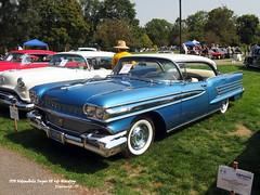 1958 Oldsmobile Super 88 4dr Hardtop (JCarnutz) Tags: 1958 oldsmobile super88 orphancarshow ypsilanti michigan riversidepark