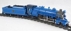 Comet Locomotive 01 (Cale Leiphart) Tags: bluecomet newjersey centralrailroadofnewjersey cnj rr railroad train lego passenger steam engine locomotive powerfunctions