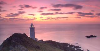 Start point lighthouse Devon UK