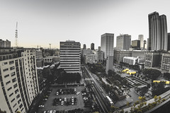 Above the city (mvttbrown) Tags: 2017 la lax losangeles summer cali california cities city downtown fisheye june phone plane street streetdreams streetphoto streetphotography streetshared travel urban urbex wideangle