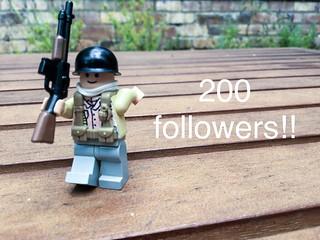 200 followers!!