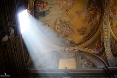 Fiat Lux: Let There Be Light (pbmultimedia5) Tags: church bologna italy light fiat lux fresco art pbmultimedia christianity