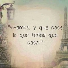 Frases/Quotes. (Old Paper Perfume) Tags: vivir live life vida quote frase