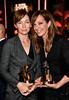 Honorees Julianne Nicholson (L) and Allison Janney, co
