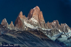 Monte Fitz Roy at Dawn (SewerDoc (3 million views)) Tags: andesmountains argentina captureoakville2017 fitzroy mountain patagonia patagoniasouthamerica photocascadiaworkshop southamerica sunrisef explore explored