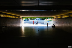 Scenes from the Underground (The Hobbit Hole) Tags: ricoh gr ii urban shadows vienna austria