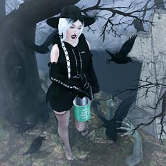 {Blog 295} Graveyard (veronica gearz) Tags: avi avatar halloween grave graveyard secondlife second sl maitreya mesh life lelutka blog blogging blogger blogs bloggers 2ndlife salem prismslevents prism prismsl pumec powderpack aviglam runaway pixicat candydoll commoner purpleposes jian lagom gypsyheart scared