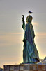 La benedizione (Maurizio Belisario) Tags: statua monumento santommaso holy mare sea abruzzo ortona porto port uccello bird gabbiano gull benedizione blessing monument saint funny divertente